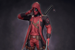 Deadpool 4k Newart