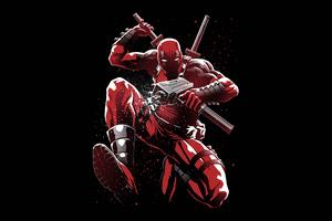 Deadpool 5K Artwork Wallpaper
