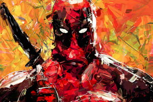 Deadpool 8k Art