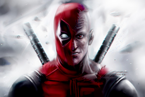 Deadpool 8k Artwork