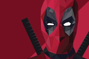 Deadpool Abstract Art