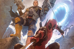Deadpool And Cable 2020 Art Wallpaper
