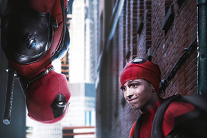 Deadpool And Spiderman 4k Wallpaper