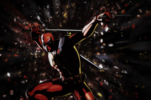 Deadpool Art 4k