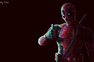 Deadpool Arts 2019 Wallpaper