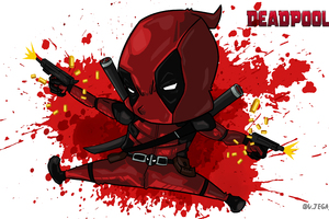 Deadpool Artwork 10k Wallpaper