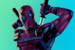 Deadpool Artwork 2020 4k Wallpaper