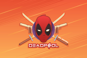Deadpool Artworks Wallpaper