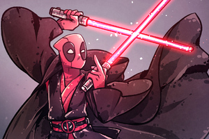 Deadpool As Sith Lord