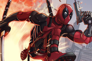 Deadpool Away From Attack