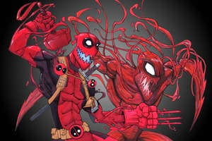 Deadpool Carnage 10k Wallpaper