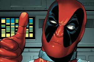 Deadpool Comic Art Wallpaper