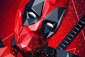 Deadpool Digital Art 4k