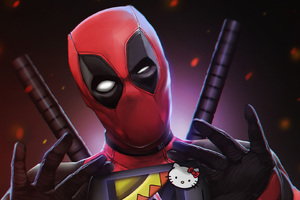 Deadpool Digital Artwork