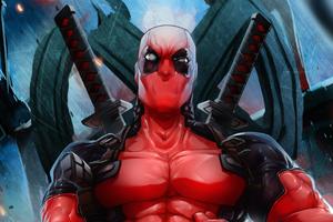 Deadpool Endgame Wallpaper