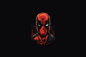 Deadpool Facet Art Wallpaper