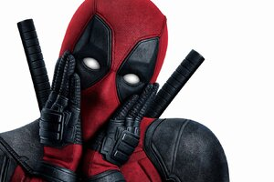 Deadpool Funny Emotions Wallpaper