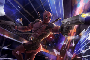 Deadpool Gun Man Wallpaper
