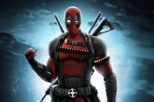 Deadpool Hero 4k