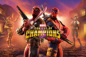 Deadpool Marvel Contest Of Champions Wallpaper