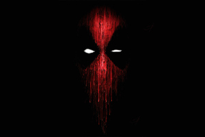 Deadpool Mask Minimal