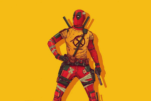 Deadpool New Costume 4k Wallpaper