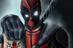 Deadpool Pew Pew