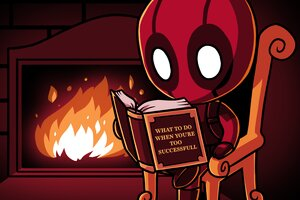 Deadpool Secret Of Success Wallpaper