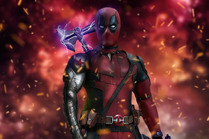 Deadpool Stormbreaker Wallpaper