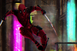 Deadpool Sword Art