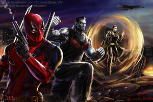 Deadpool X Force Team