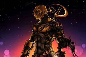 Deathstroke 2020 4k Artwork Wallpaper
