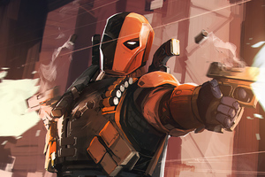 Deathstroke 2020 Artwork Wallpaper