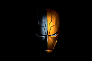 Deathstroke 2020 Mask 4k Wallpaper