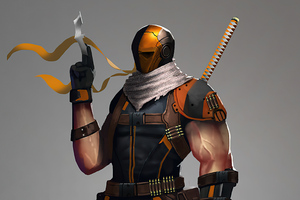 Deathstroke 4k 2020 Art Wallpaper