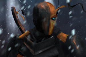 Deathstroke 4k Art