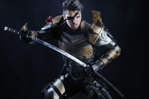 Deathstroke 4k Cosplay