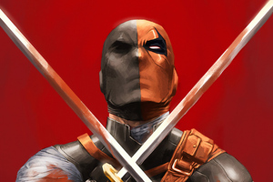 Deathstroke 4k New Wallpaper