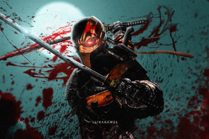 Deathstroke 4k New Artwork