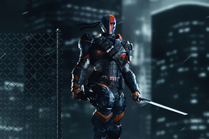 Deathstroke 4k Night