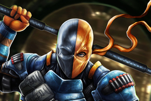 Deathstroke 4kart Wallpaper