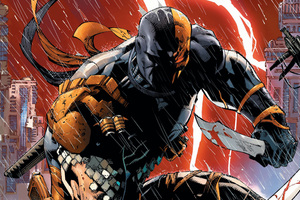 Deathstroke Comic Artwork 4k