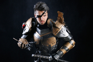 Deathstroke Cosplay 4k