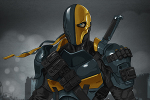 Deathstroke Dc Comics Art