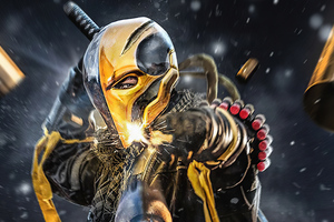 Deathstroke Gun Wallpaper