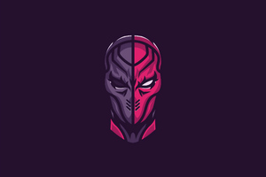 Deathstroke Minimal Wallpaper