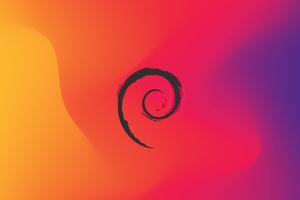 Debian Linux 4k Wallpaper