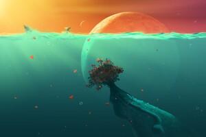 Deep Ocean Planet Fish