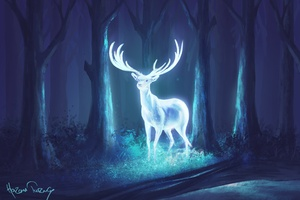 Deer Fantasy Artwork