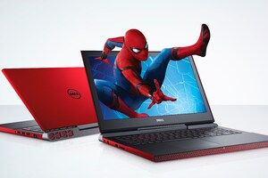 Dell Spiderman Edition Inspiron 15 7000 Wallpaper